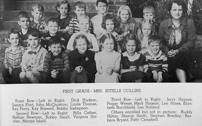 First Grade - Mrs. Collins