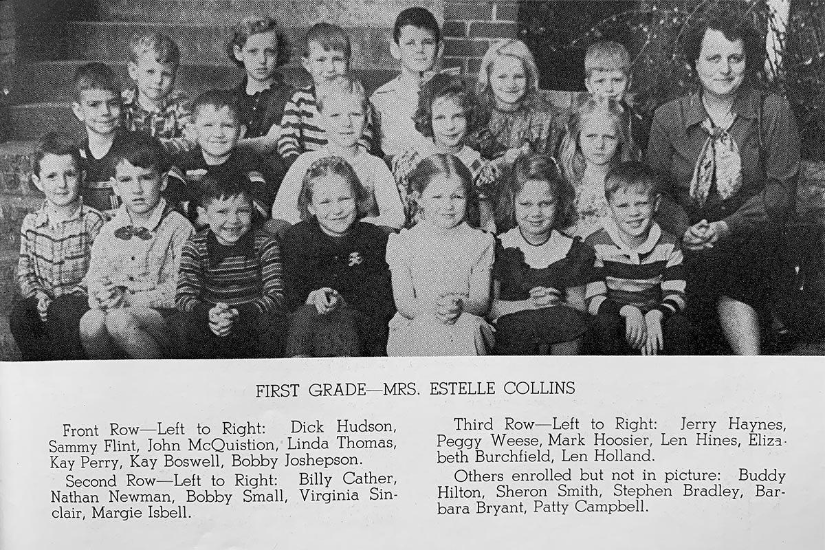 Don Harbor's School Days