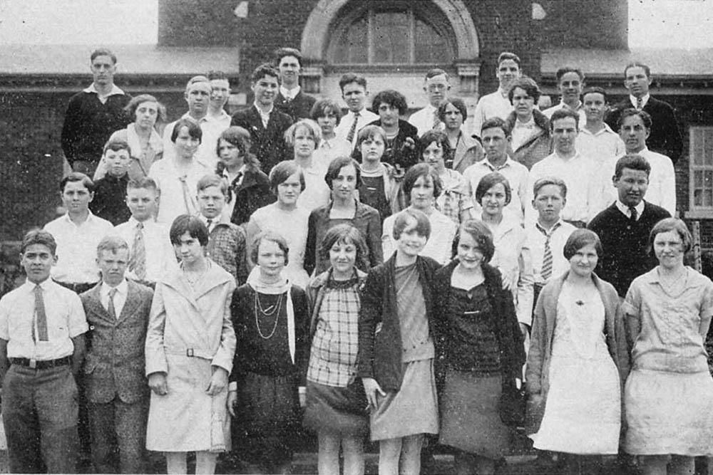 Second Grade 1949-1950  – Don Harbor's School Days