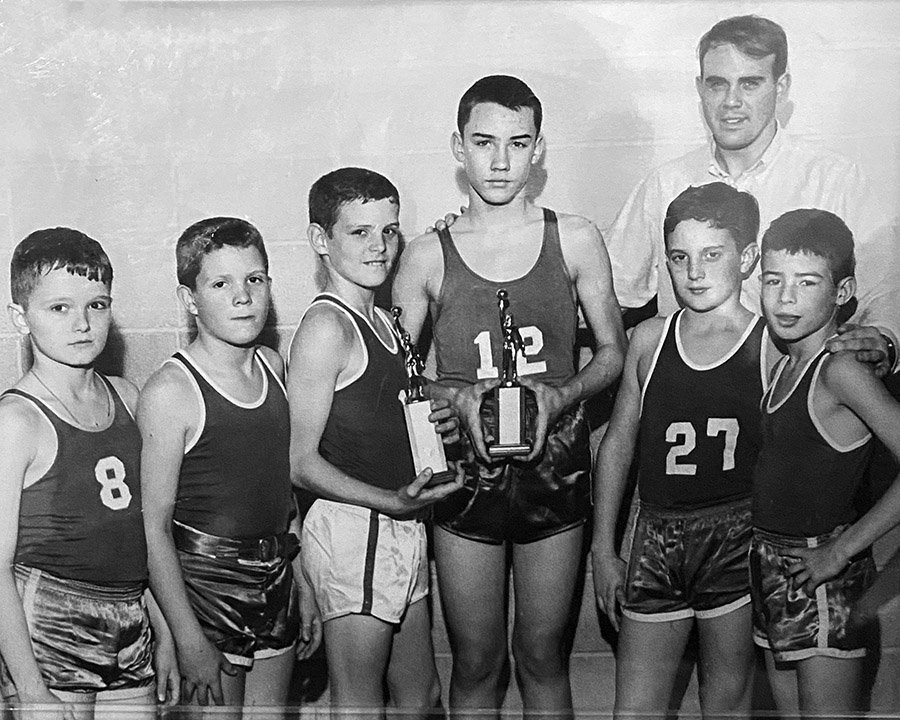 1964 Shades Cahaba Basketball Team