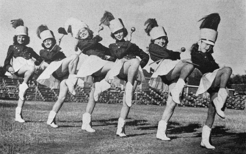 1949 Majorettes